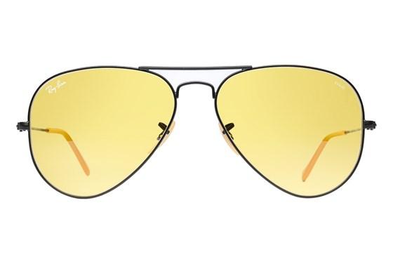 Ray-Ban® RB3025 Evolve Aviator Black Sunglasses