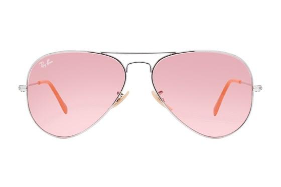 Ray-Ban® RB3025 Evolve Aviator Silver Sunglasses