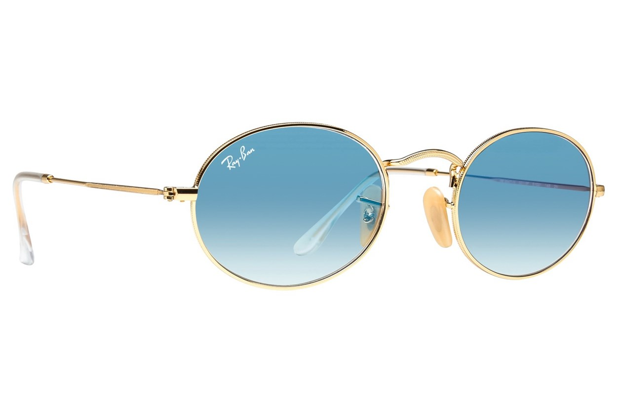Ray-Ban® RB3547N Gold Sunglasses