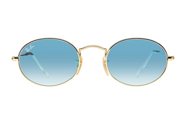 Ray-Ban® RB3547N Sunglasses - Gold