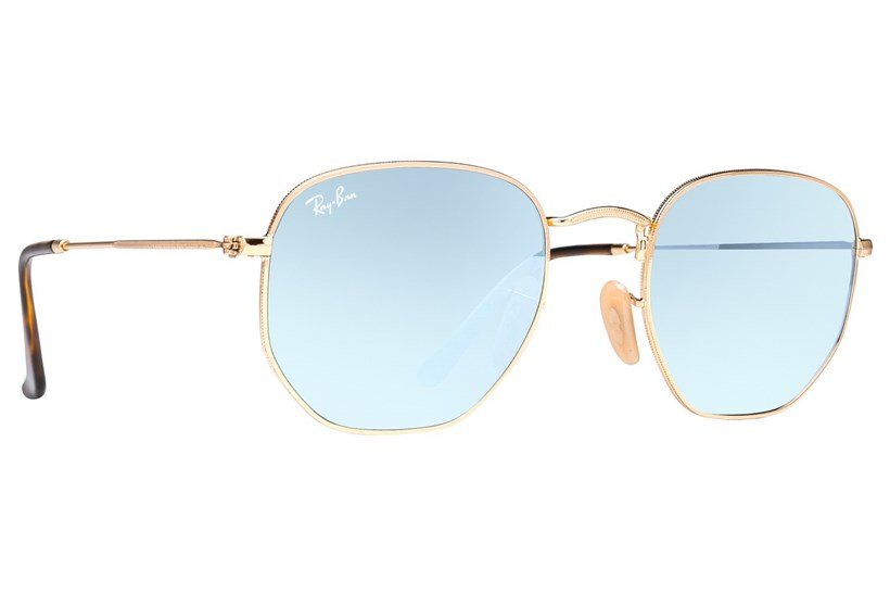 22886cdb98a Ray-Ban® RB3548N Hexagonal Mirror - Sunglasses At AC Lens