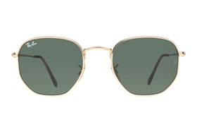 Ray-Ban® RB3548N Hexagonal Gold