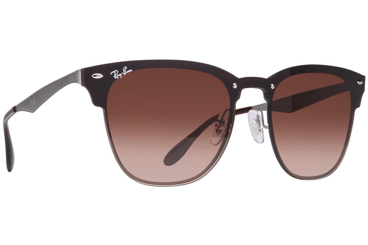 Ray-Ban® RB3576N Blaze Clubmaster Gray Sunglasses