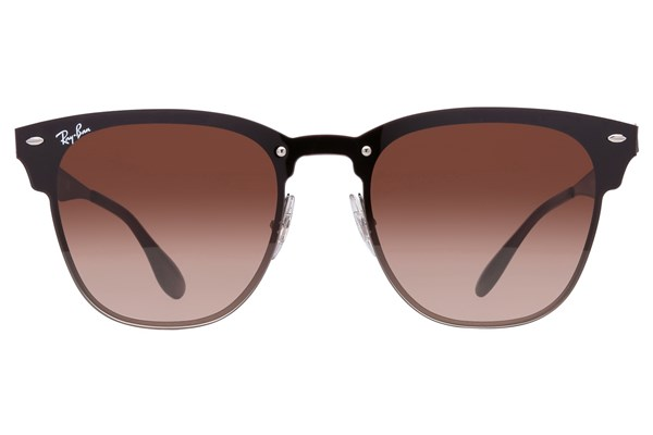 Ray-Ban® RB3576N Blaze Clubmaster Gray Sunglasses