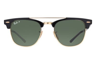 Ray-Ban® RB3816 Clubmaster Polarized Black