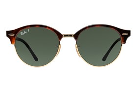 Ray-Ban� RB4246 Clubround Polarized Red