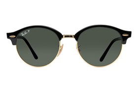 Ray-Ban� RB4246 Clubround Polarized Black