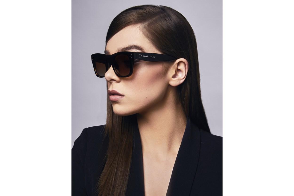 Alternate Image 1 - Prive Revaux The Classic Black Sunglasses
