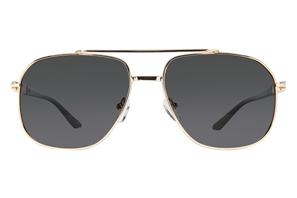 Prive Revaux The Dealer Gold Sunglasses