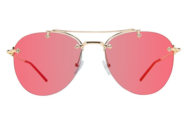 Prive Revaux The Dutchess Sunglasses - Gold