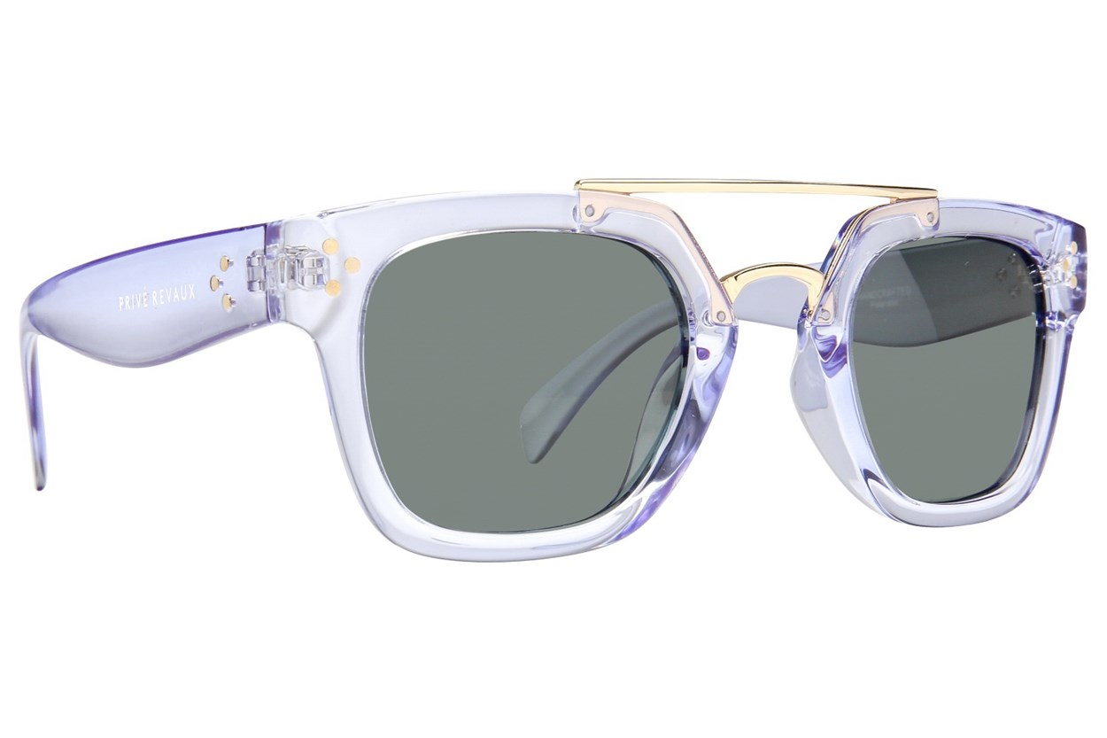 Prive Revaux The Foxx Sunglasses - Clear