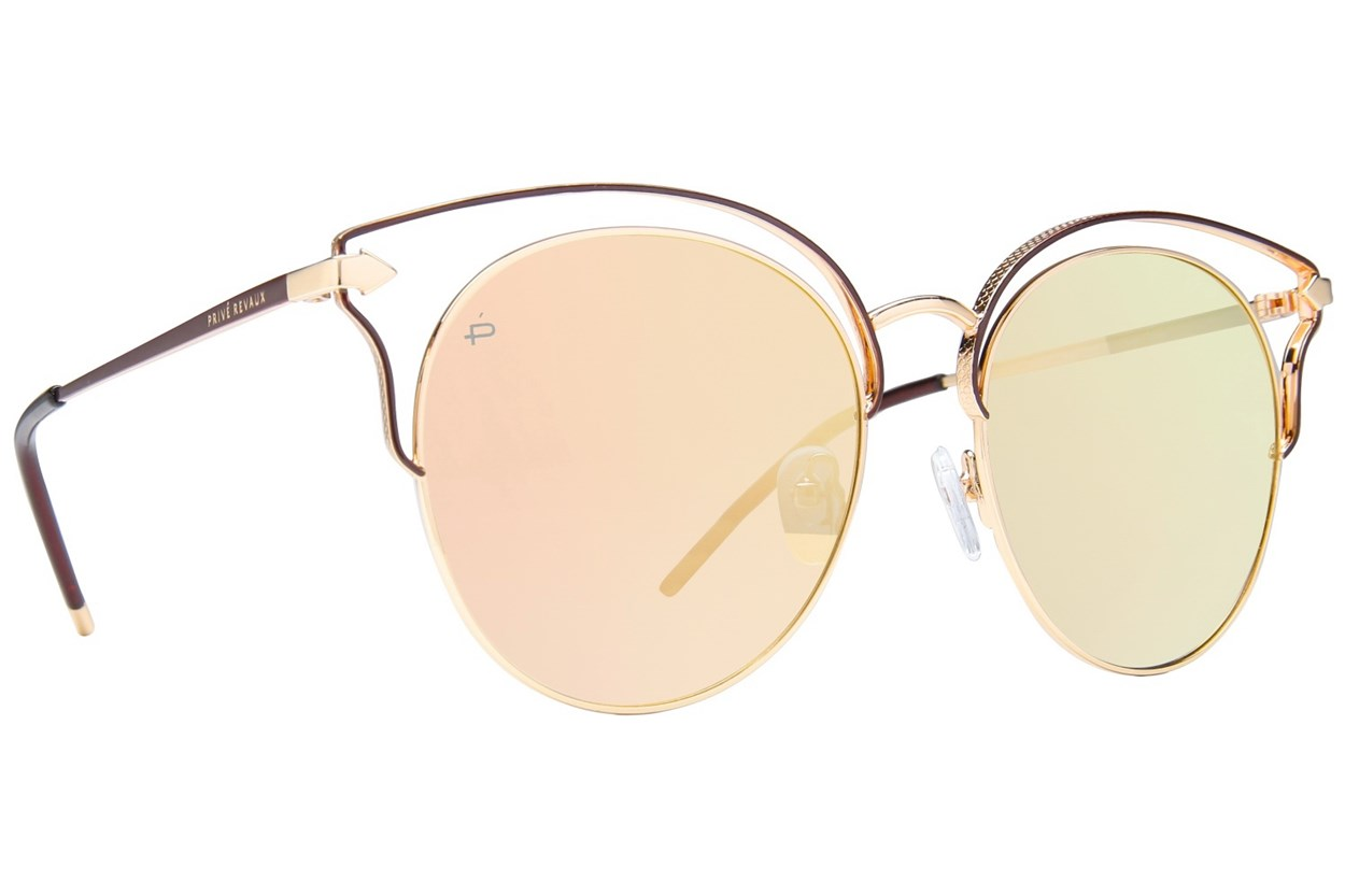 Prive Revaux The Heartbreaker Sunglasses - Gold