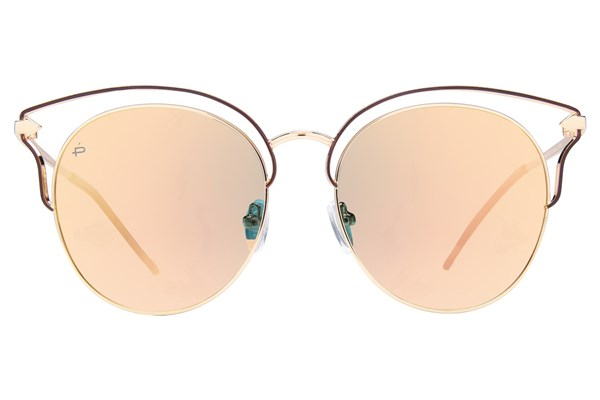 Prive Revaux The Heartbreaker Gold Sunglasses