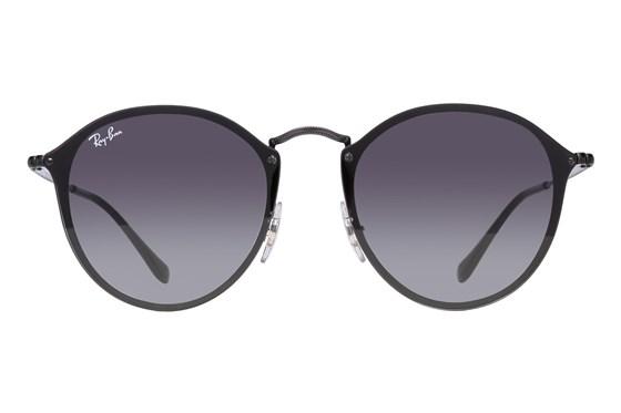 Ray-Ban® RB3574N Blaze Round Black Sunglasses