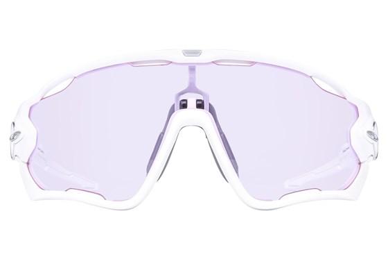 Oakley Jawbreaker Low Light White Sunglasses