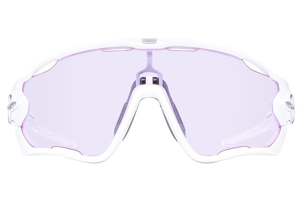 Oakley Jawbreaker Low Light Sunglasses - White