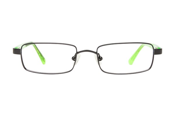 NIKE 5550 Black Eyeglasses
