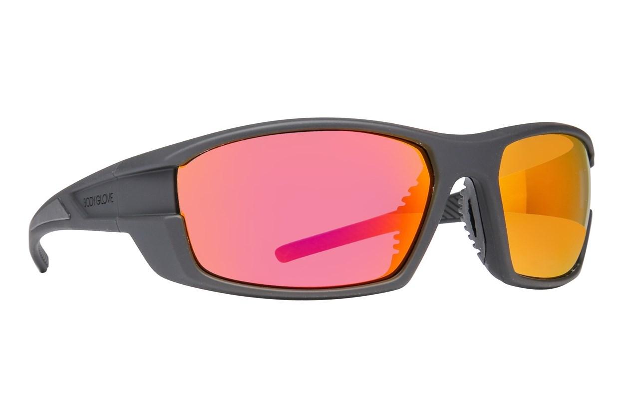 Body Glove BG 1801 Polarized Black Sunglasses