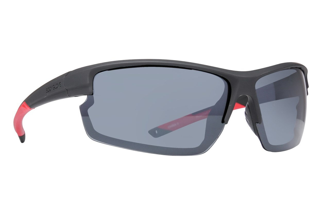 Body Glove BGFL1802 Polarized Black Sunglasses