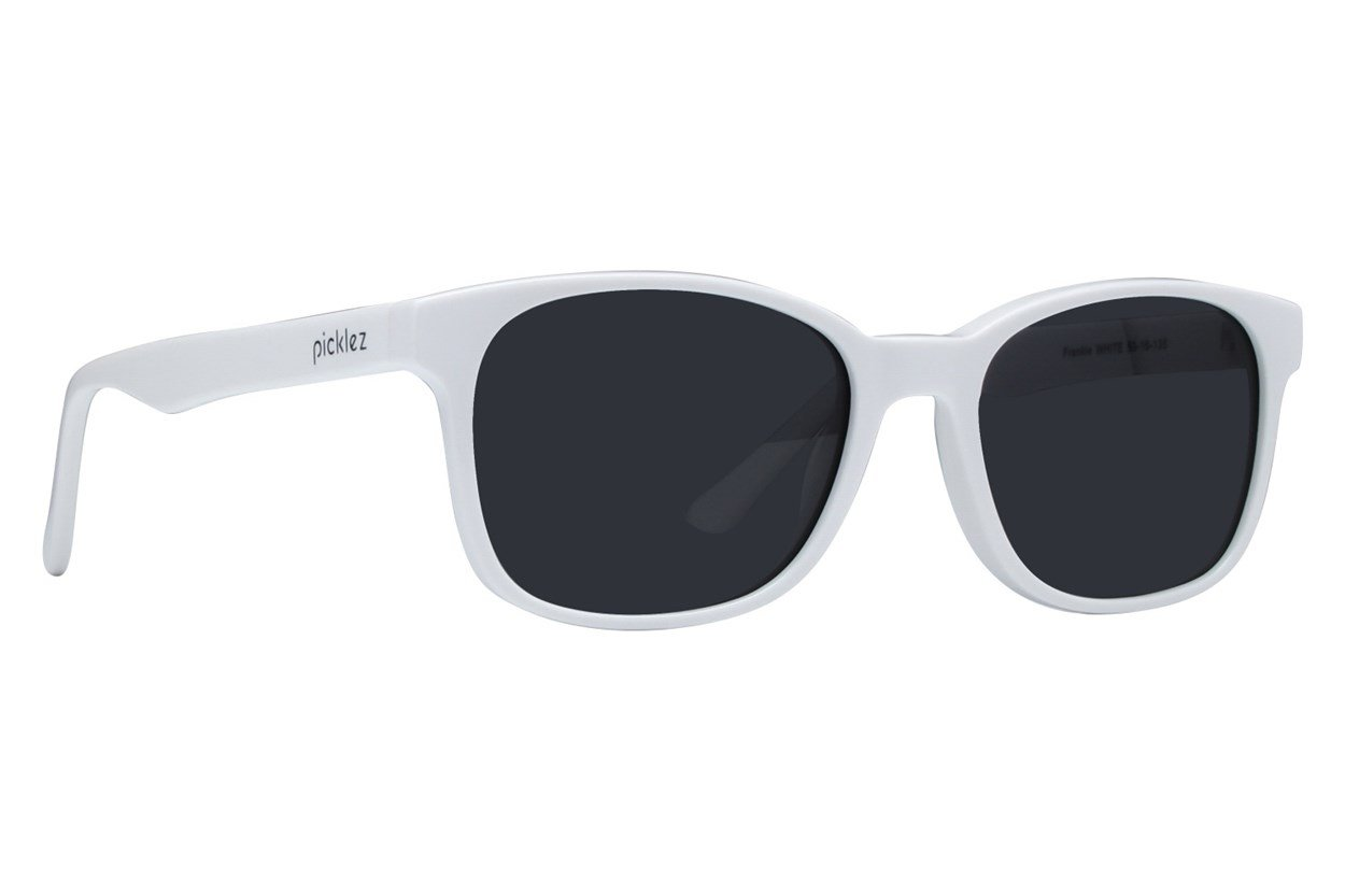 Picklez Frankie White Sunglasses