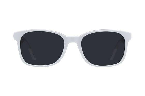 Picklez Frankie White Sunglasses