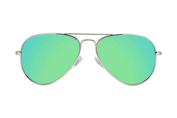 Picklez Marley Mirror Gold Sunglasses