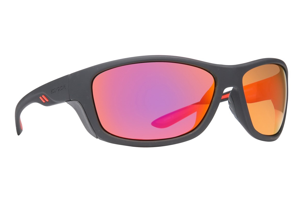Body Glove Vapor 1802 Polarized Black Sunglasses