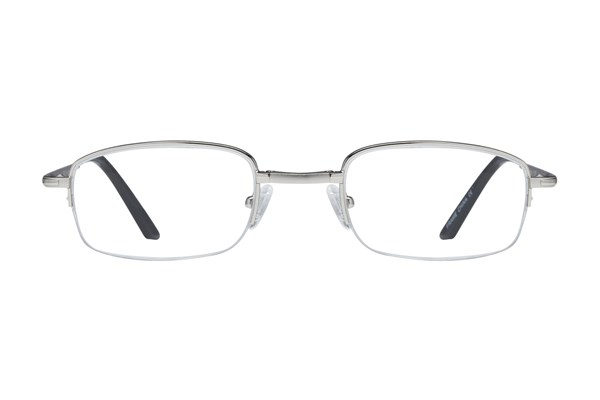 Lunettos Sirius Reading Glasses ReadingGlasses - Silver