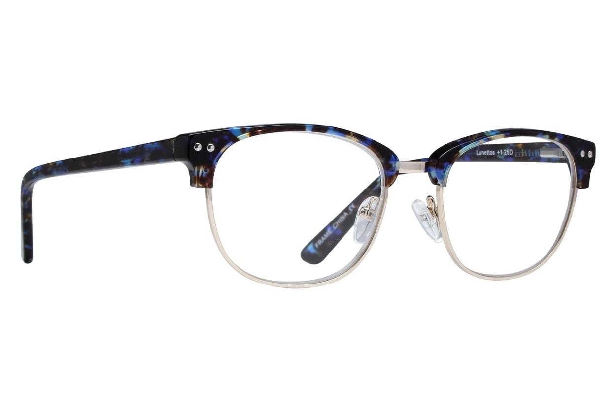 Lunettos Bellatrix Reading Glasses Blue ReadingGlasses