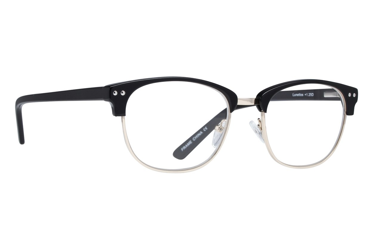 Lunettos Bellatrix Reading Glasses Black