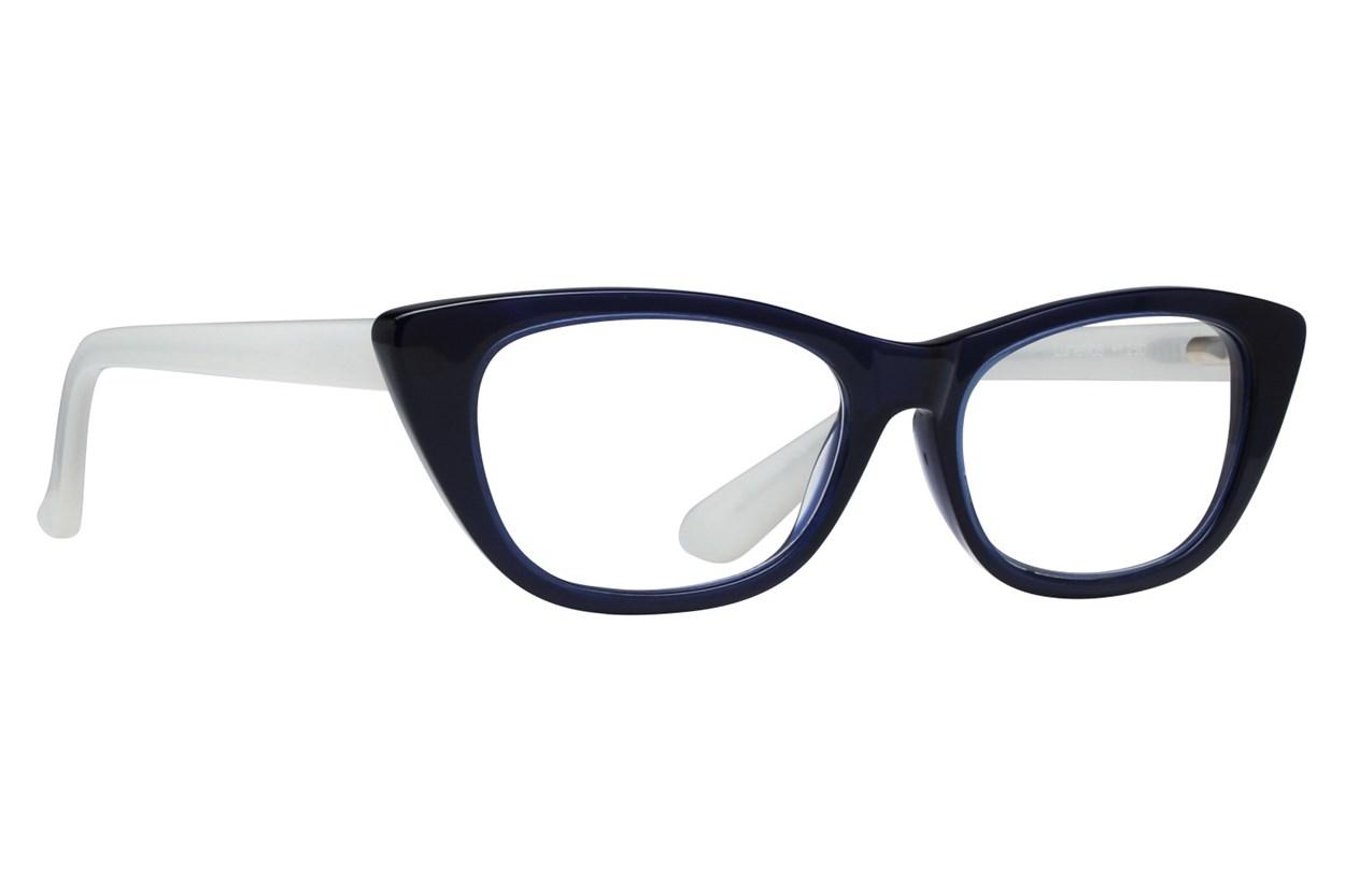 Lunettos Alya Reading Glasses Blue