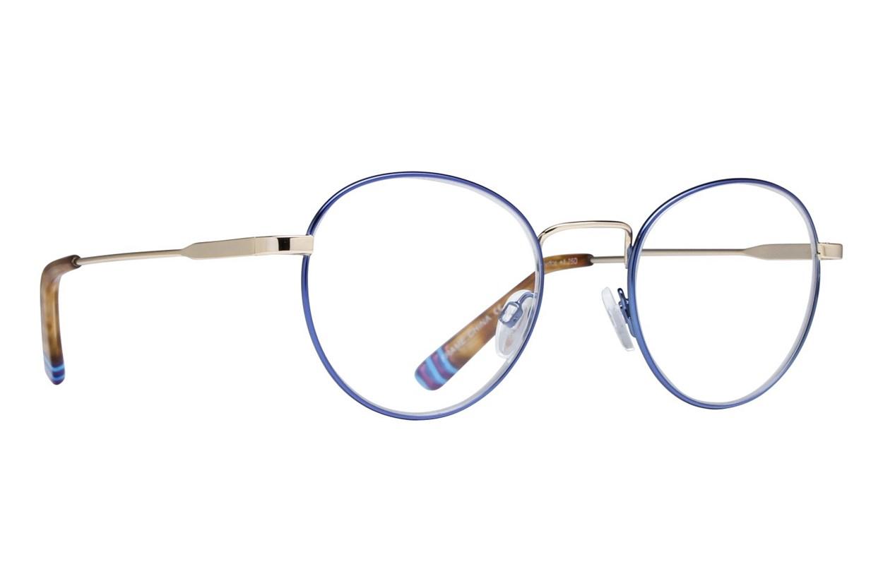 Lunettos Baham Reading Glasses Blue
