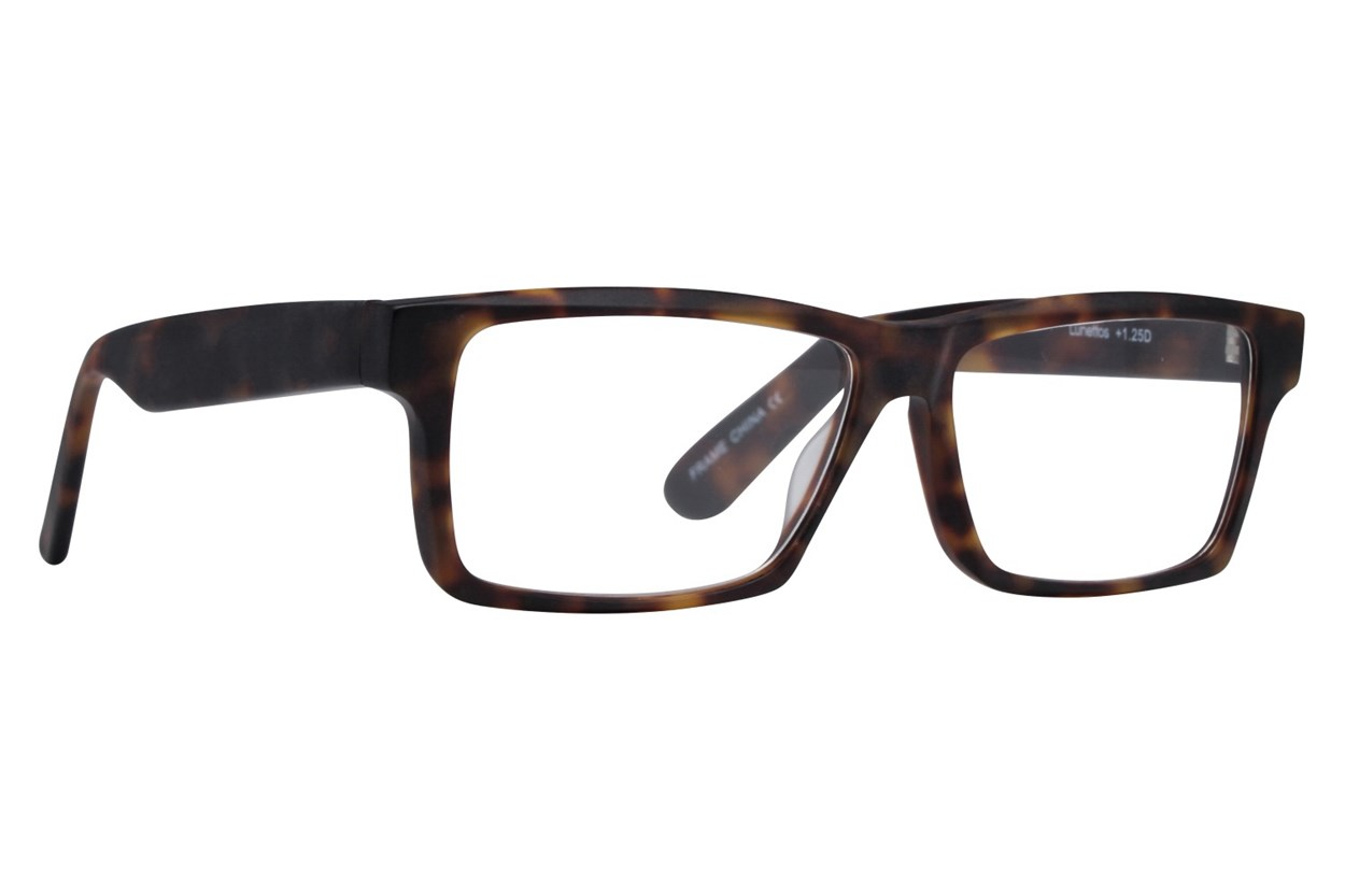 Lunettos Taurus Reading Glasses Tortoise ReadingGlasses