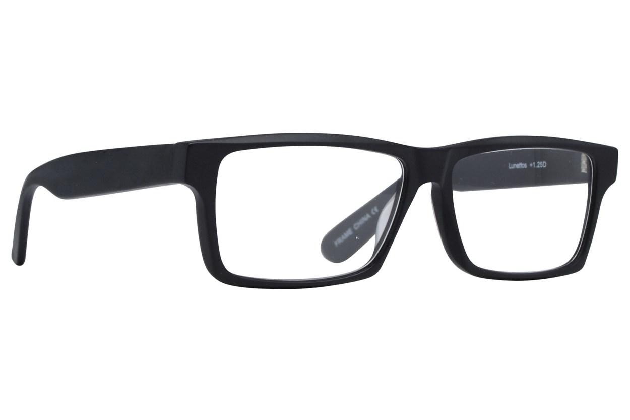 Lunettos Taurus Reading Glasses Black