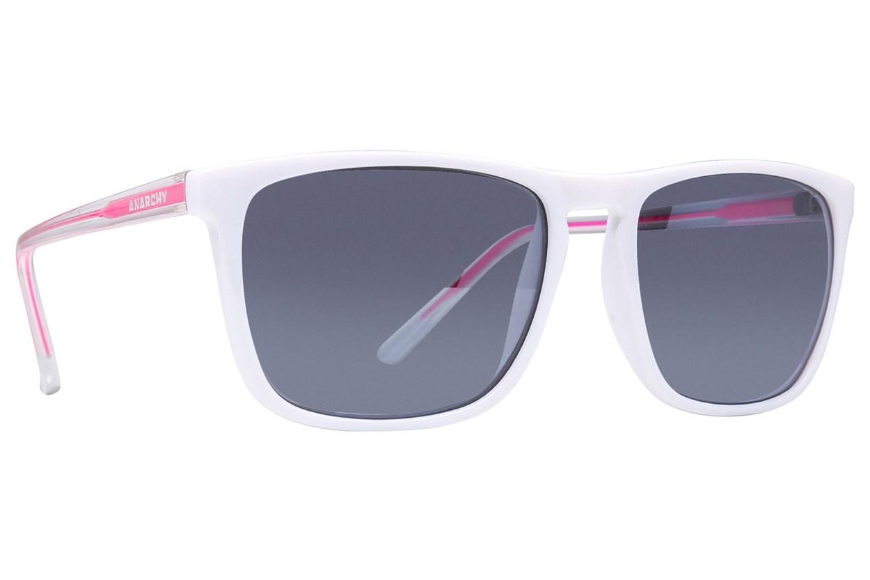 Anarchy Ricochet White Sunglasses