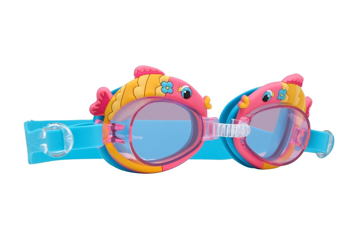 Fish Swim Goggles Orange SwimmingGoggles