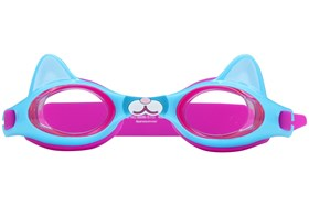 Blue Cat Swim Goggles Blue