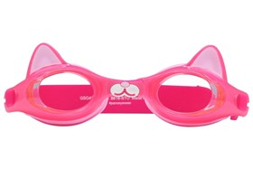 Pink Cat Swim Goggles Pink