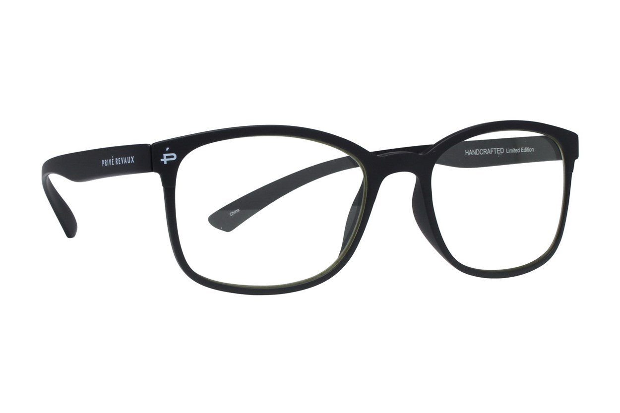 Prive Revaux The Aristotle Black Eyeglasses