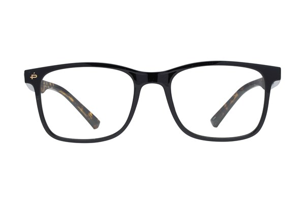 Prive Revaux The Maimonides Black Eyeglasses