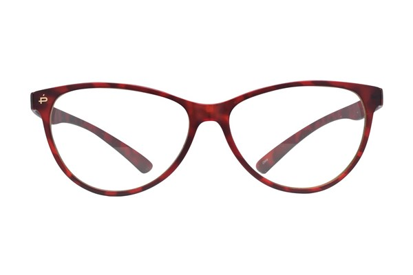 Prive Revaux The Thoreau Red Eyeglasses