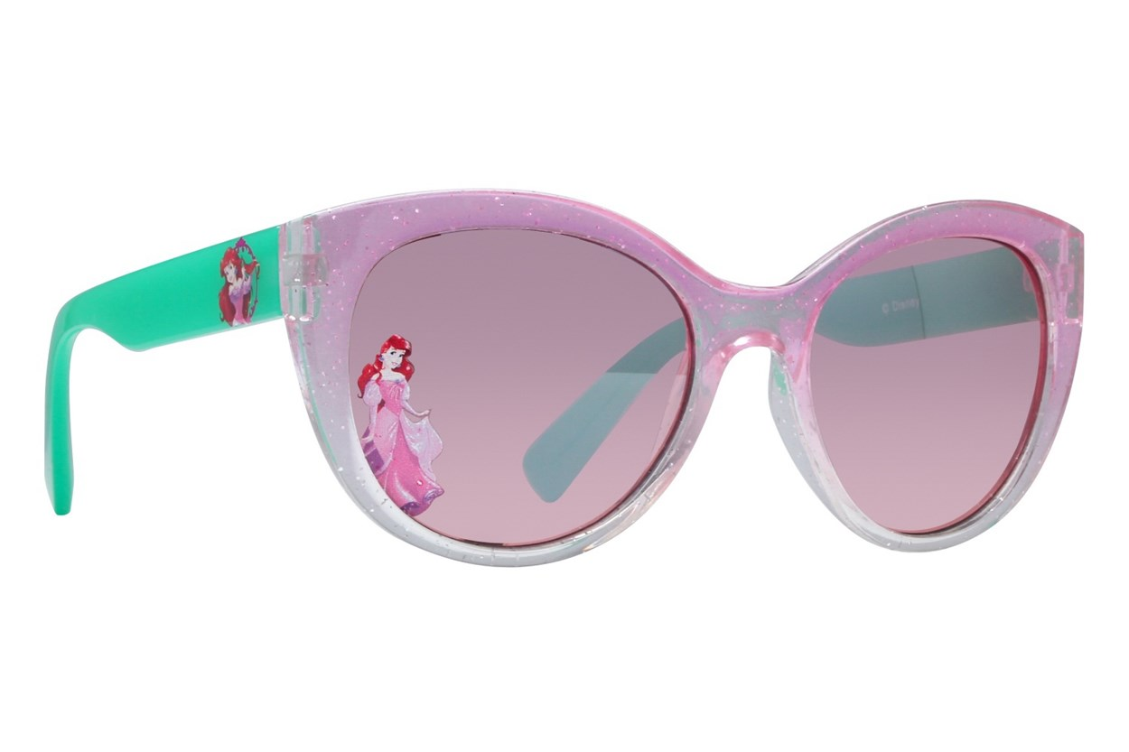 Disney Little Mermaid LM015 Pink Sunglasses