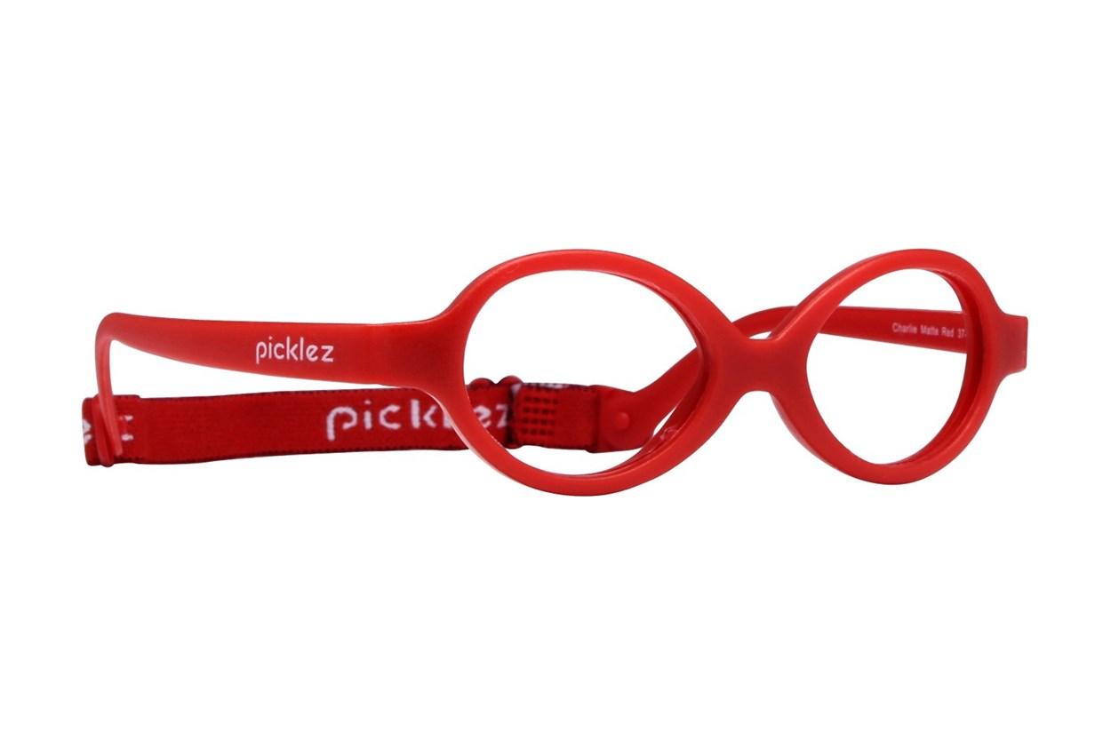 Picklez Charlie Red Eyeglasses