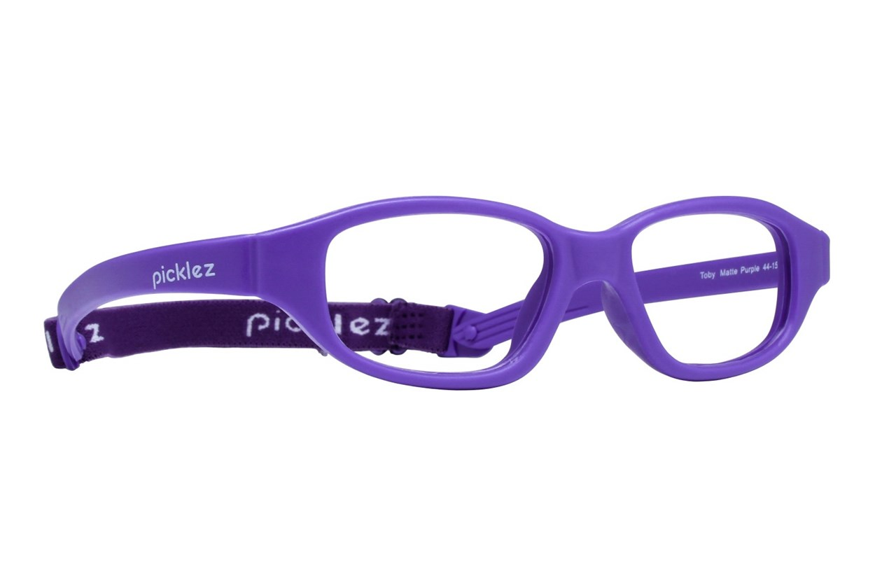 Picklez Toby Purple Eyeglasses