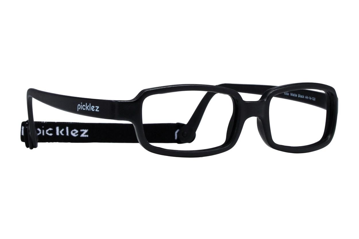 Picklez Toto Black Eyeglasses