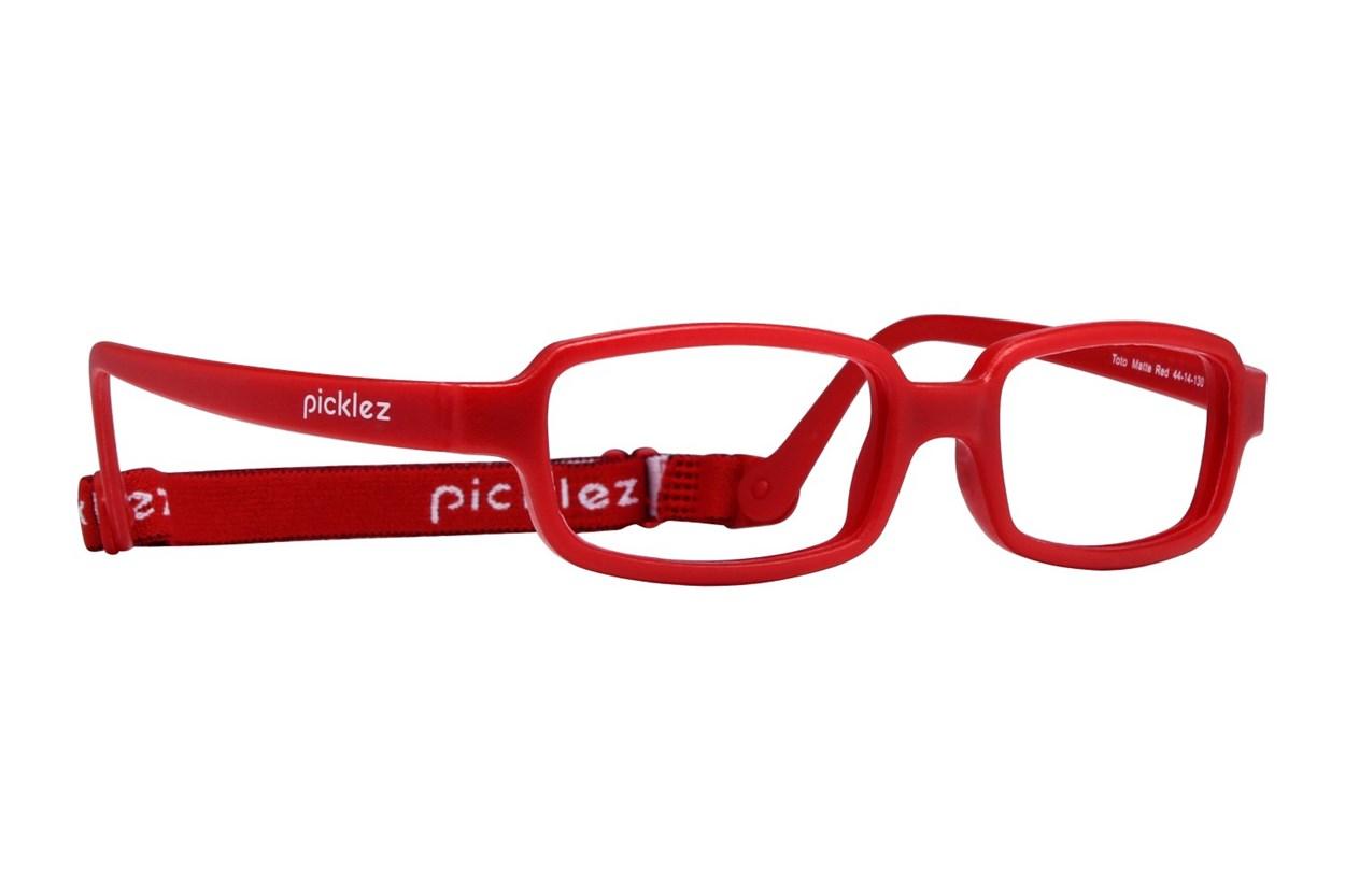 Picklez Toto Red Eyeglasses