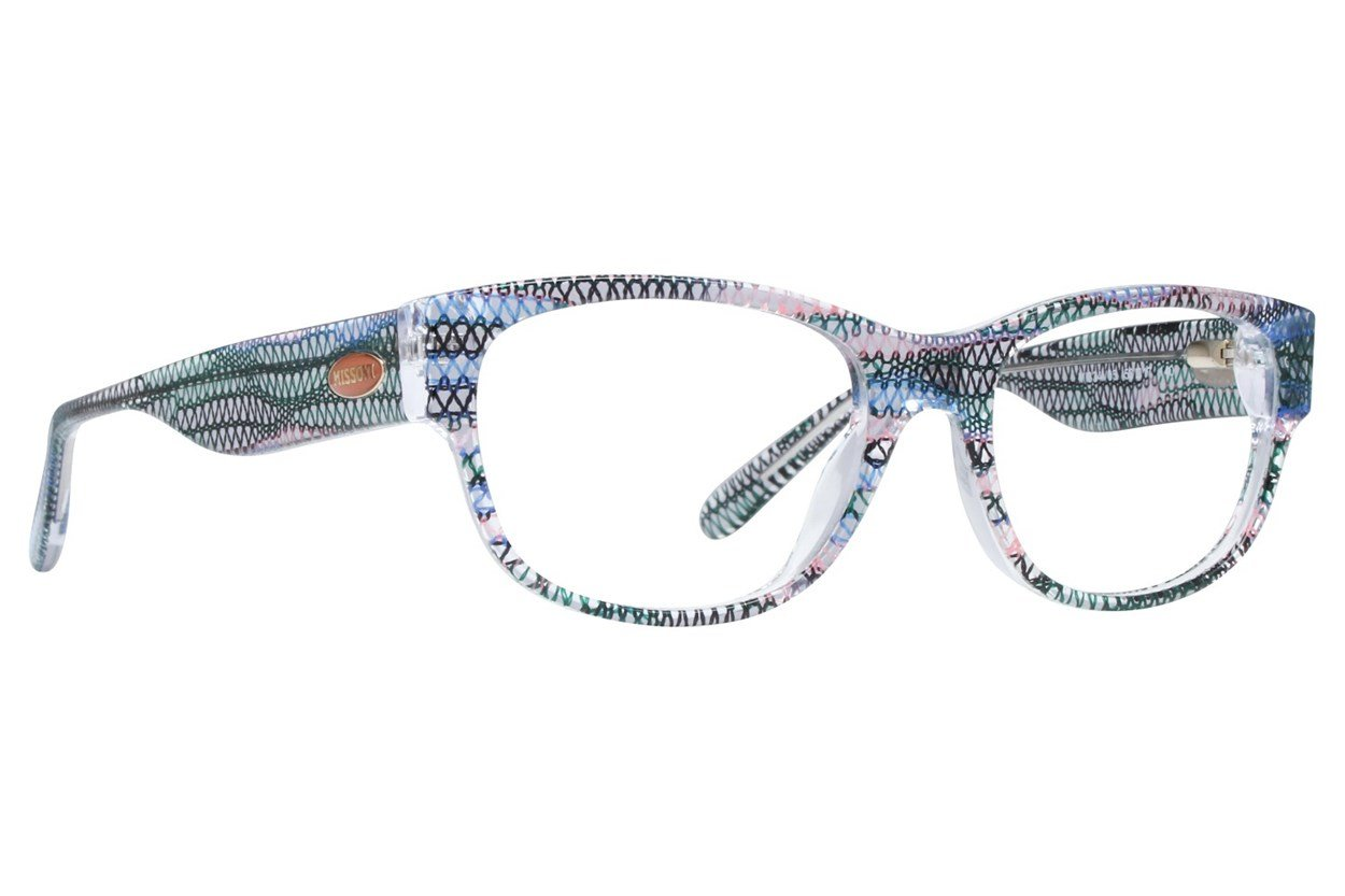 Missoni MI334V Blue Eyeglasses