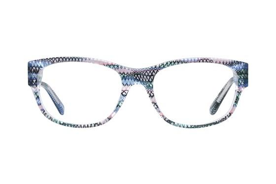 Missoni MI334V Blue Eyeglasses