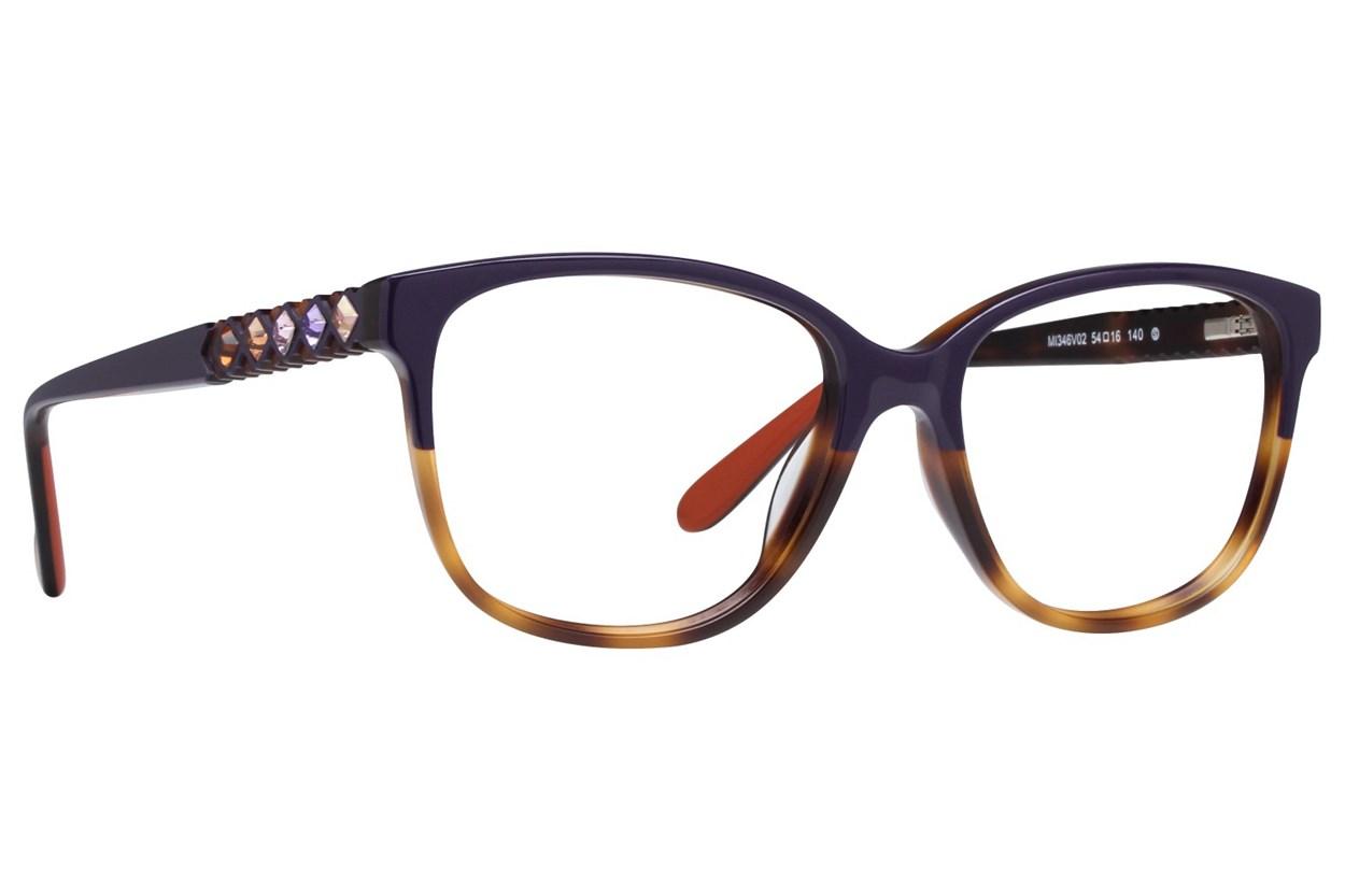 Missoni MI346V Purple Eyeglasses