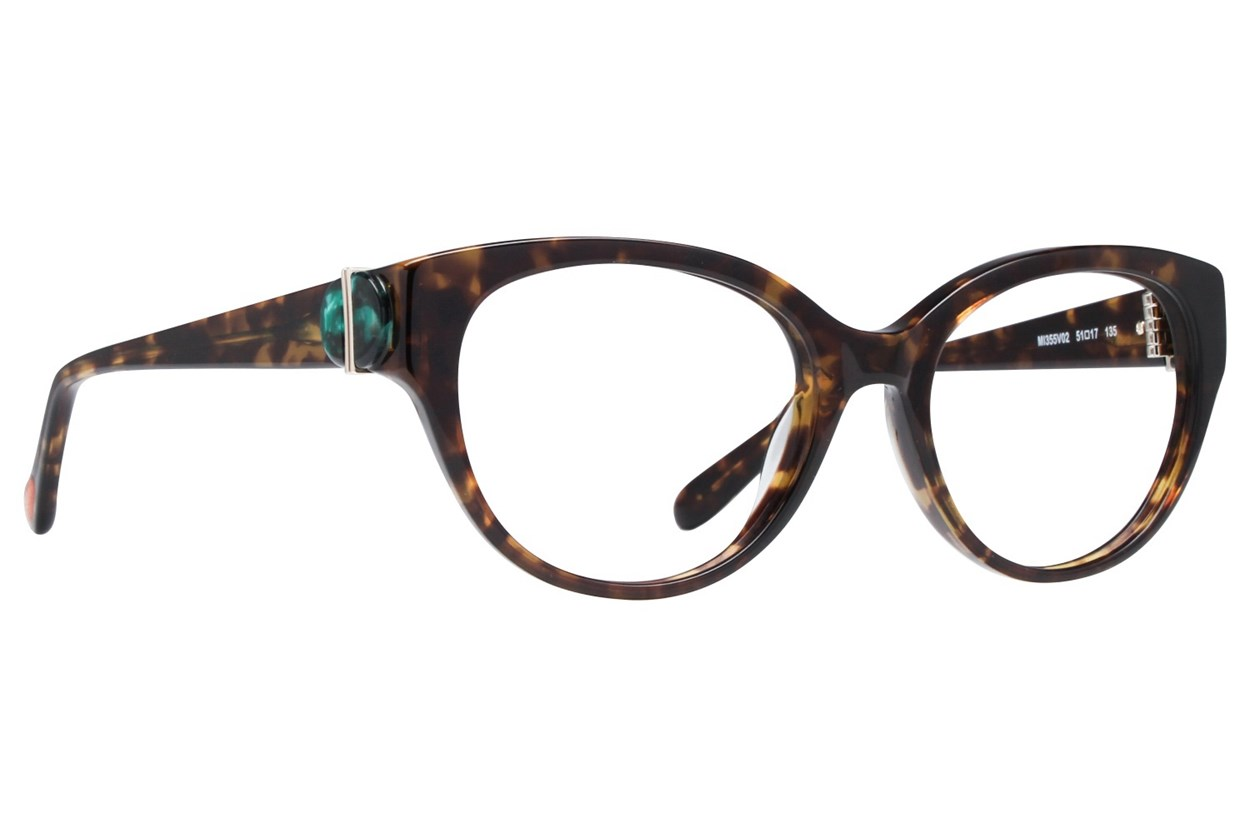 Missoni MI355V Tortoise Eyeglasses